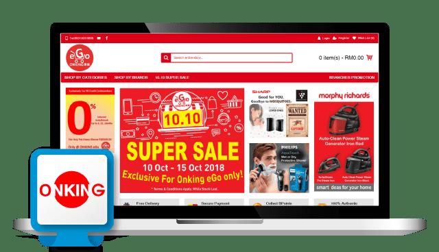 Onking- Shopping Cart Malaysia